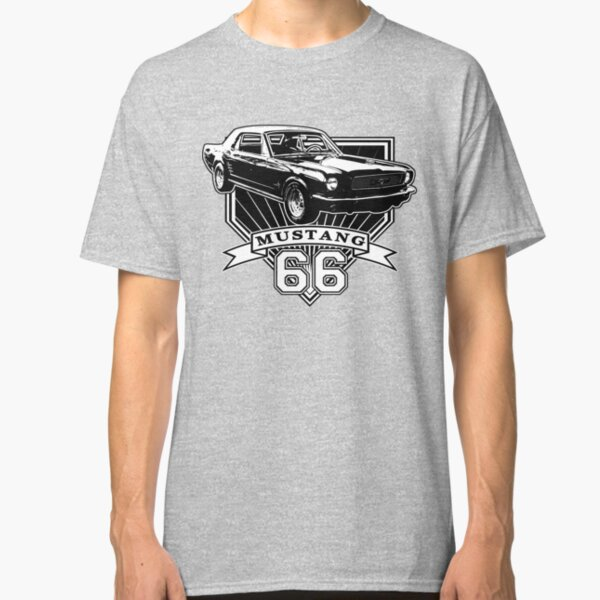 1965 1966 Mustang Coupe T-SHIRT 65 66 Ford GT