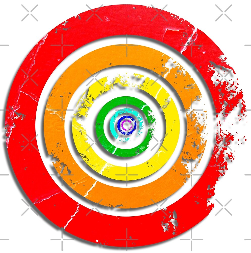 Rainbow Target by PrivateVices