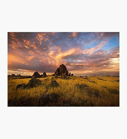 Sky Pinnacle Photographic Print