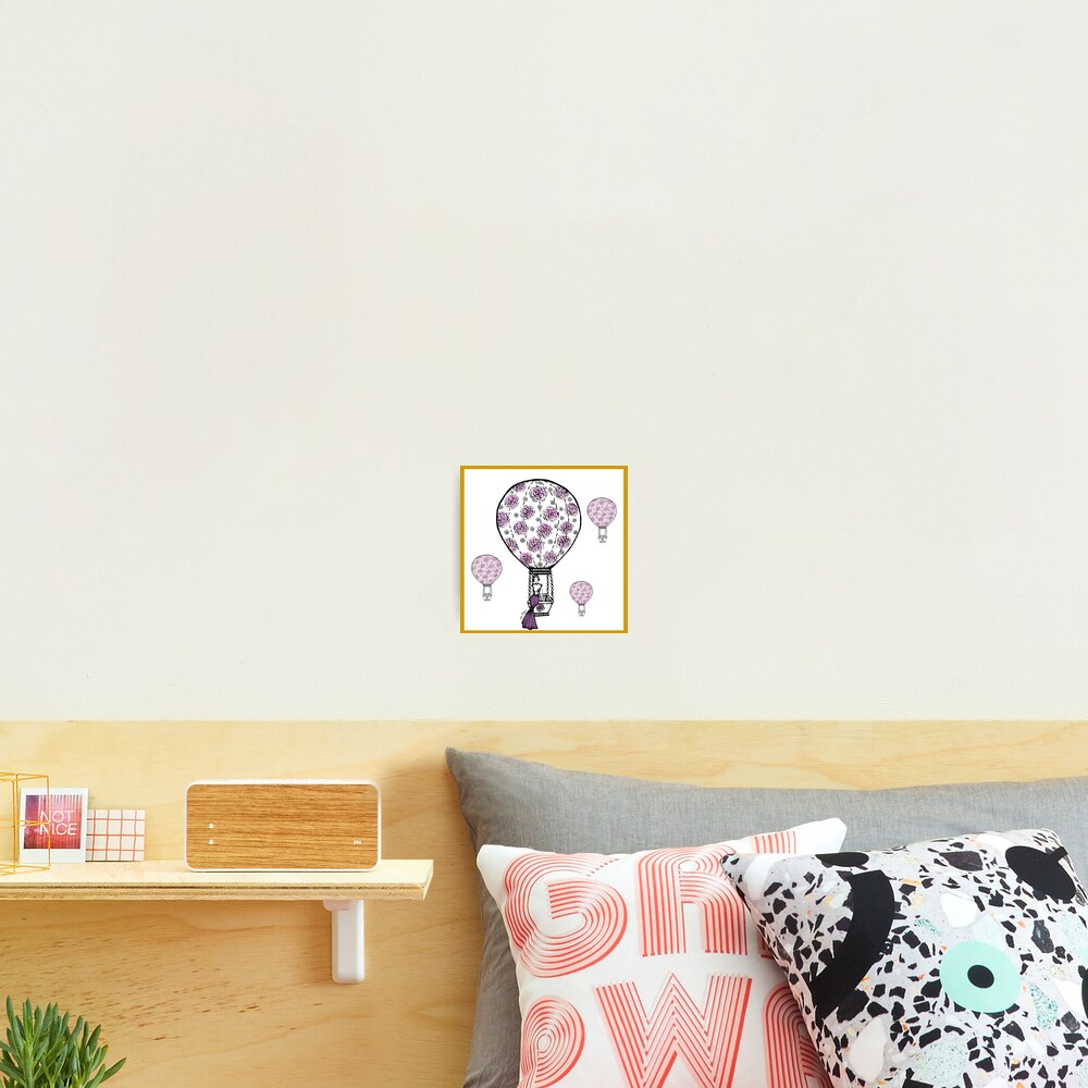 Dreaming girl Photographic Print