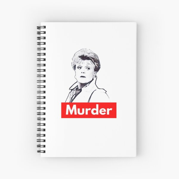 Simple Murder Spiral Notebook
