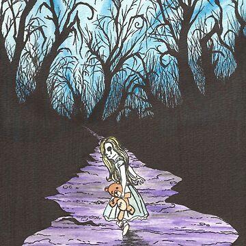Alice on the Run by artoftheabyss
