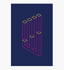 Impossible Shapes: Columns Photographic Print