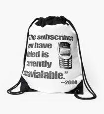 2000s Calling Drawstring Bag