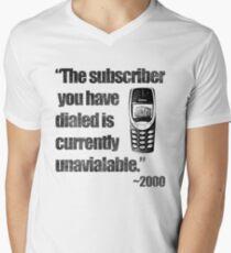 2000s Calling Men's V-Neck T-Shirt