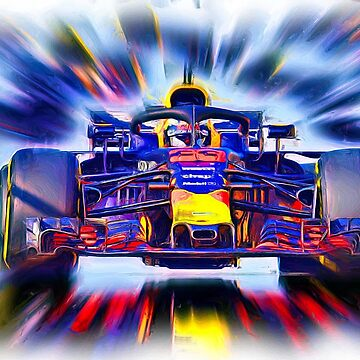 Shooting Star Max Verstappen # 33 by Glineur