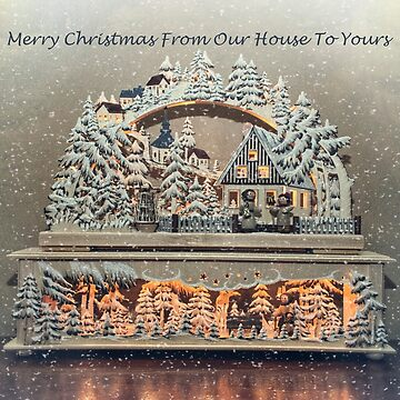 Merry Christmas ~ From Our House To Yours by GVAZDesigns