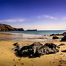 The Tranquil Empty Beach by StephenRphoto