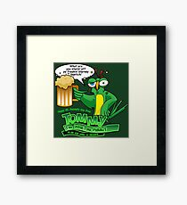 Tommy the Inulsting Parrot - Blarney Framed Print