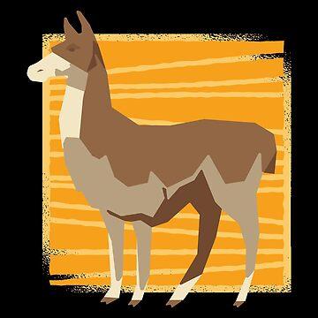 Llama Low Poly by soondoock