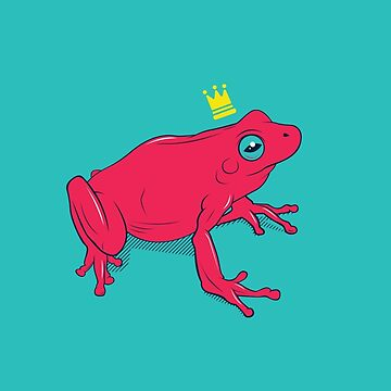 Frog Prince Red by strangethingsA