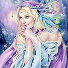 Frost Fay Ilustration von Janna Prosvirina von Jannafairyart