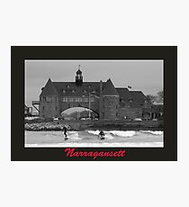 Surfs Up at Narragansett Photographic Print