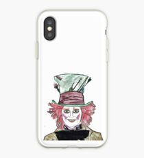 Tim Burton, Hand drawing, Alice in Wonderland, Quotes, Gifts, Presents, Decor, Pencil drawings, Doodles, Cinema, Culture, Hobbies iPhone Case