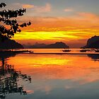Sublime Sunset - El Nido, Philippines by GypsySoulImages