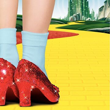 The Wizard of Oz Dorothy's Shoes Yellow Brick Road by MrTartBottom