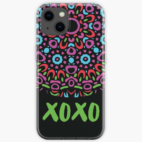 Floral Abstract Multi Colour Mandala 5a iPhone Soft Case