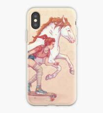 Signe du cheval iPhone Case