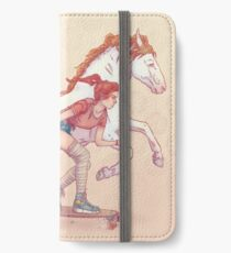 Signe du cheval iPhone Wallet/Case/Skin