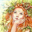 Keltischer Sommer von Janna Prosvirina von Jannafairyart
