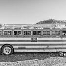 Old Abandoned Vintage Bus Jerome Arizona by Edward Fielding