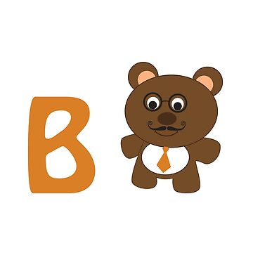 B is for  Bear  by Eggtooth