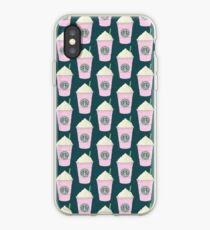 starbucks pink drink iPhone Case
