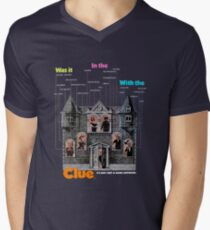 Clue Men's V-Neck T-Shirt