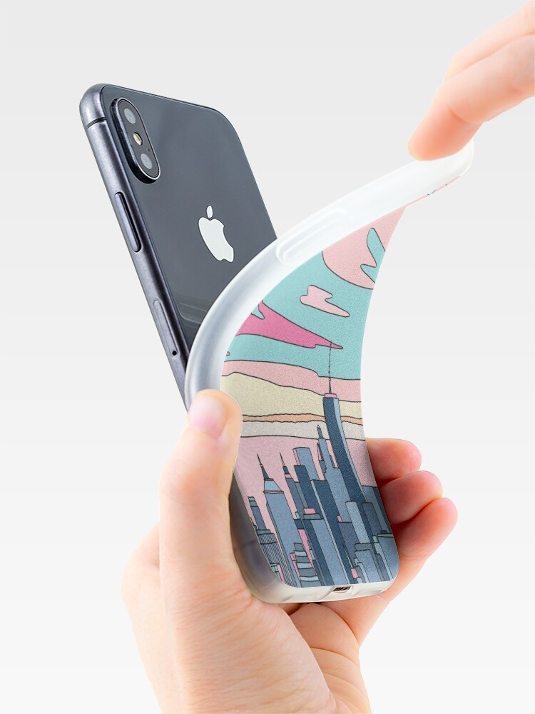 Alternate view of City sunset by Elebea iPhone Case & Cover