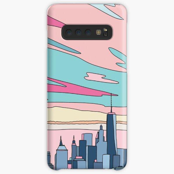 City sunset by Elebea Samsung Galaxy Snap Case