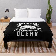 Ozeanhai - BJJ Jiu Jitsu und MMA T-Shirt Fleecedecke