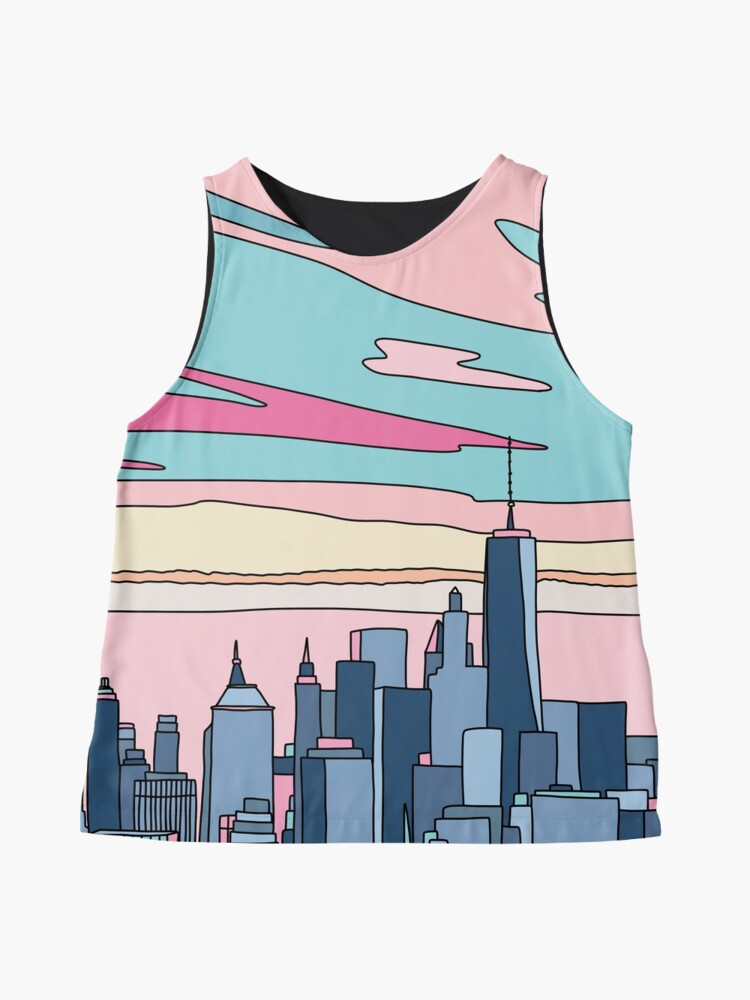 Alternate view of City sunset by Elebea Sleeveless Top