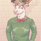 Dasher the Reindeer by HypathieAswang