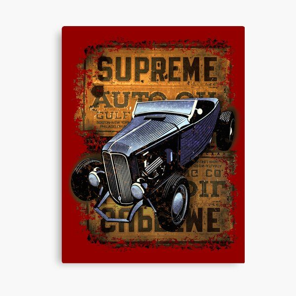 Highboy Supreme Canvas Print