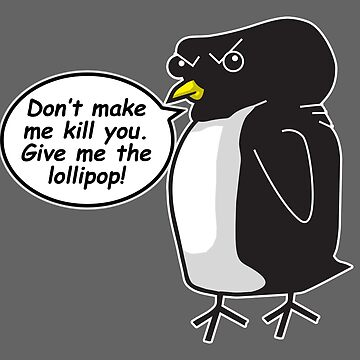 Marv the Penguin by EJTees