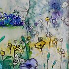 Woodland Flowers by FrancesArt
