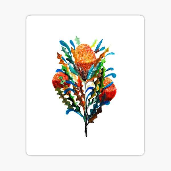 Banksias Sticker