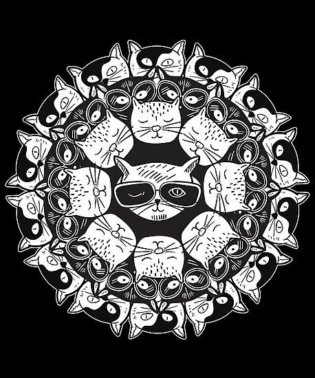«Mandala de gatos» de soondoock
