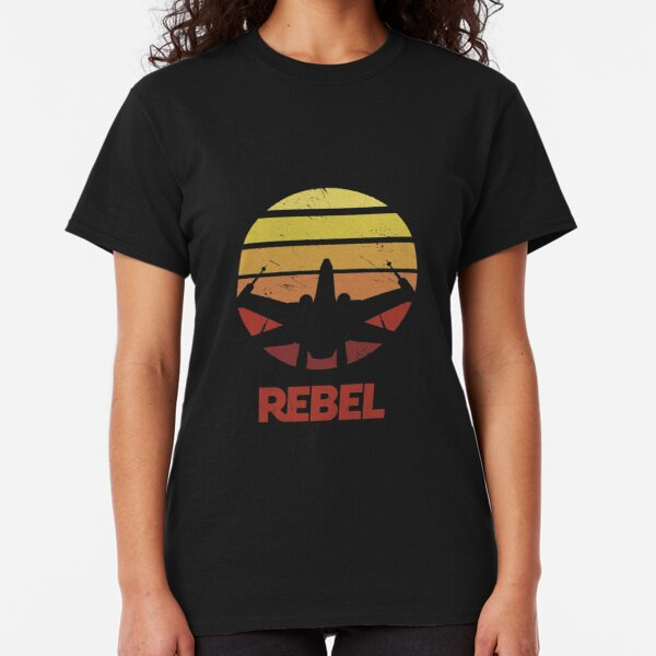 Retro Rebel X-Wing Classic T-Shirt