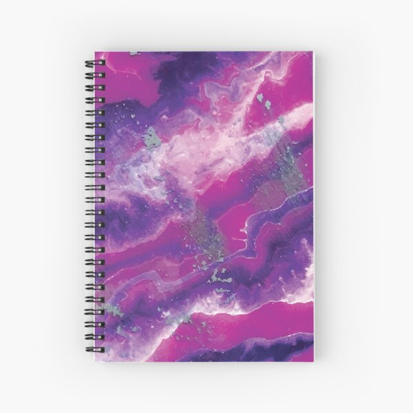 Orchid Visions Spiral Notebook