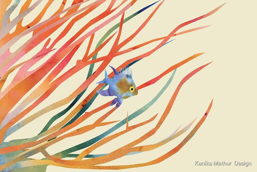 Blue Fish by Kanika Mathur  Design
