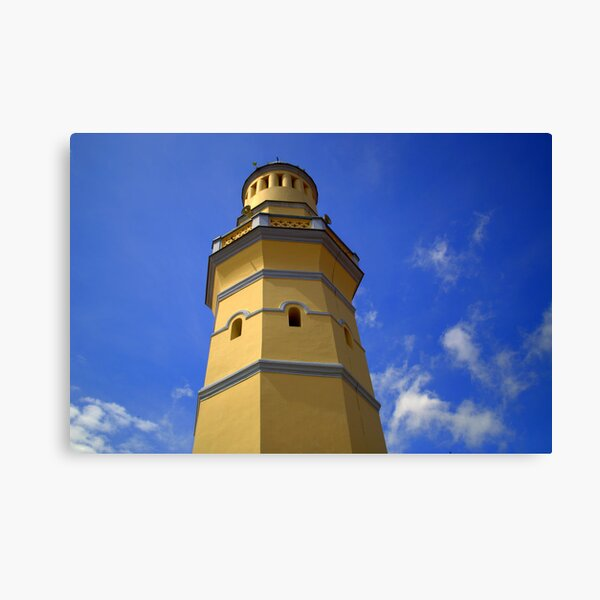 Mosque - Malaysian Skies Canvas Print