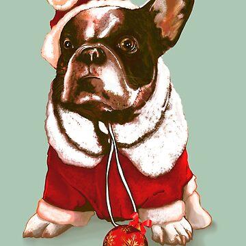 CHRISTMAS FRENCH BULLDOG FUNNY GIFT 2019 VINTAGE by MUMtees