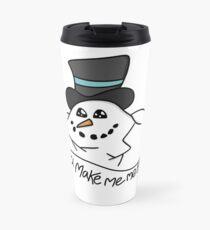Melting Snowman Travel Mug