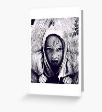 Hood in the Wood Greeting Card