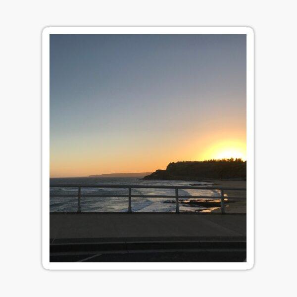 Beaches-Sunset  Sticker