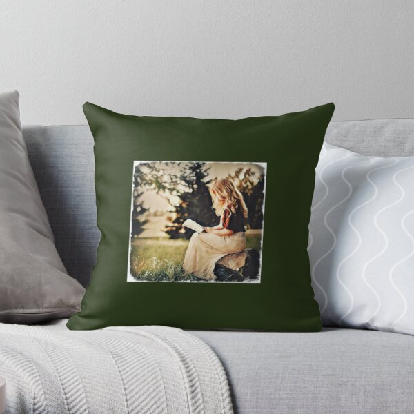 Millie or Lily-Amelie Throw Pillow