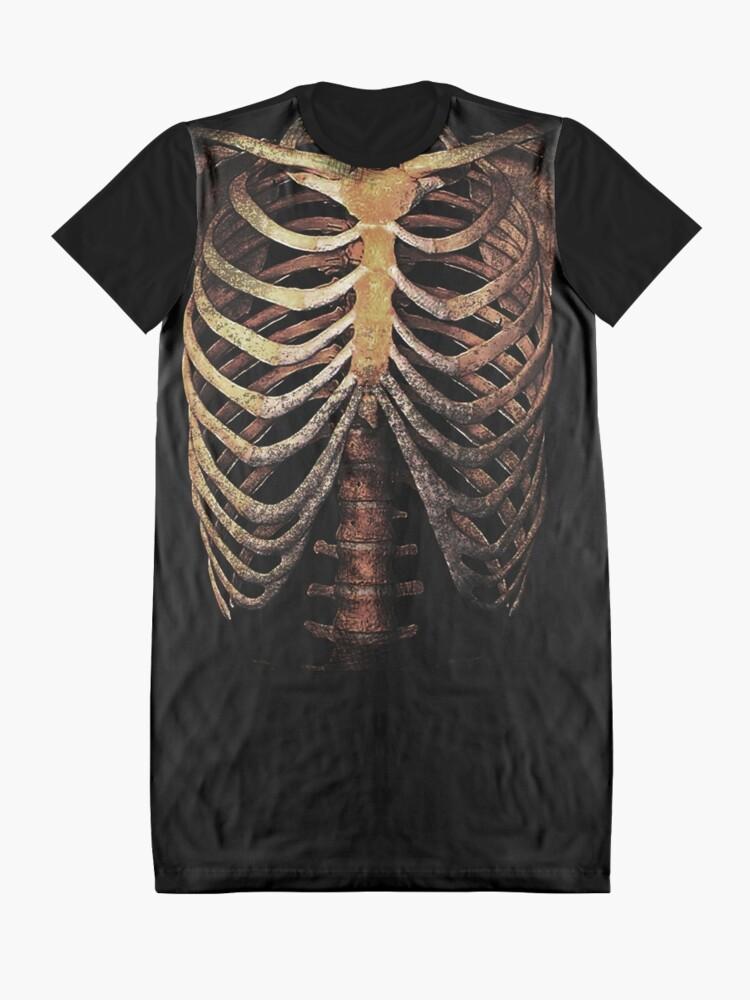 Alternate view of RIB CAGE TEE Graphic T-Shirt Dress