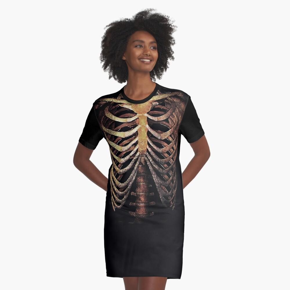RIB CAGE TEE Graphic T-Shirt Dress