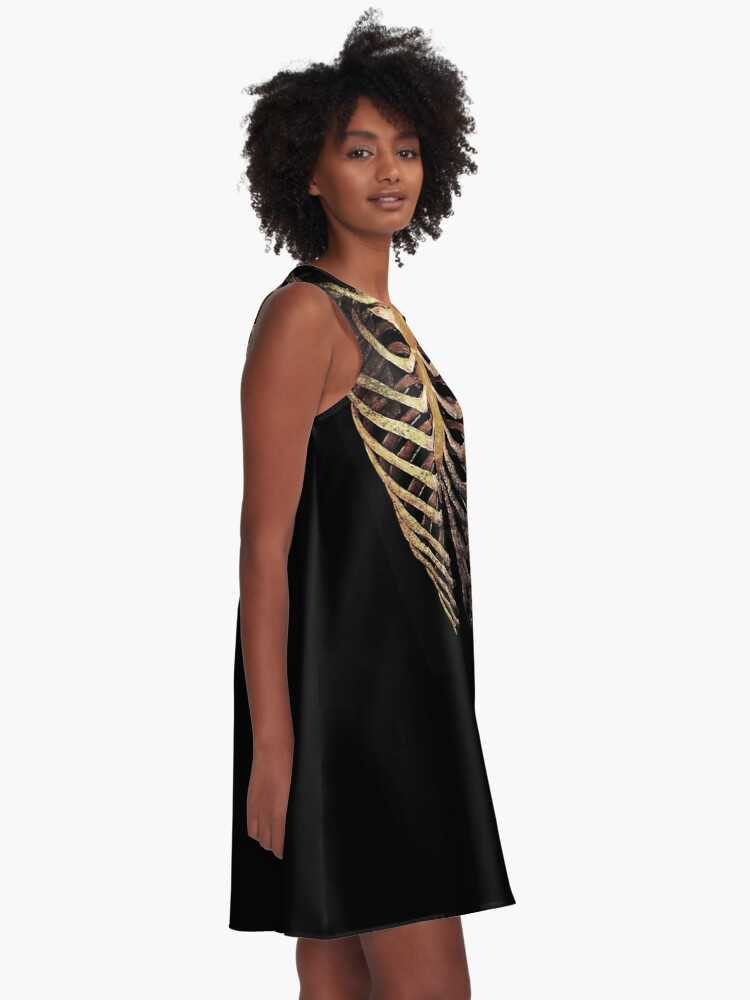 Alternate view of RIB CAGE TEE A-Line Dress